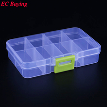 1pcs New Arrival SMD SMT IC 8 cells Electronic Component Mini Storage Box Jewelry Storaged Case 107*68*22  mm