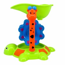 Surwish 5 Pieces Beach Sand Hourglass Turtle Toy Set with Mesh Bag for Kids - Color Random(China)