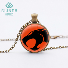 Glinda Fashion Cartoon Movie Tv Thunder Cats Silver Plated Necklace Hot Anime Super Hero Pendants Children Gifts