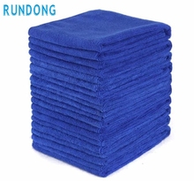 AUTO car-styling 10PCS Microfiber Soft blue 30X70cm Soft car wash car detailing towel felt Auto Wash Dry Clean Polish Cloth SE15