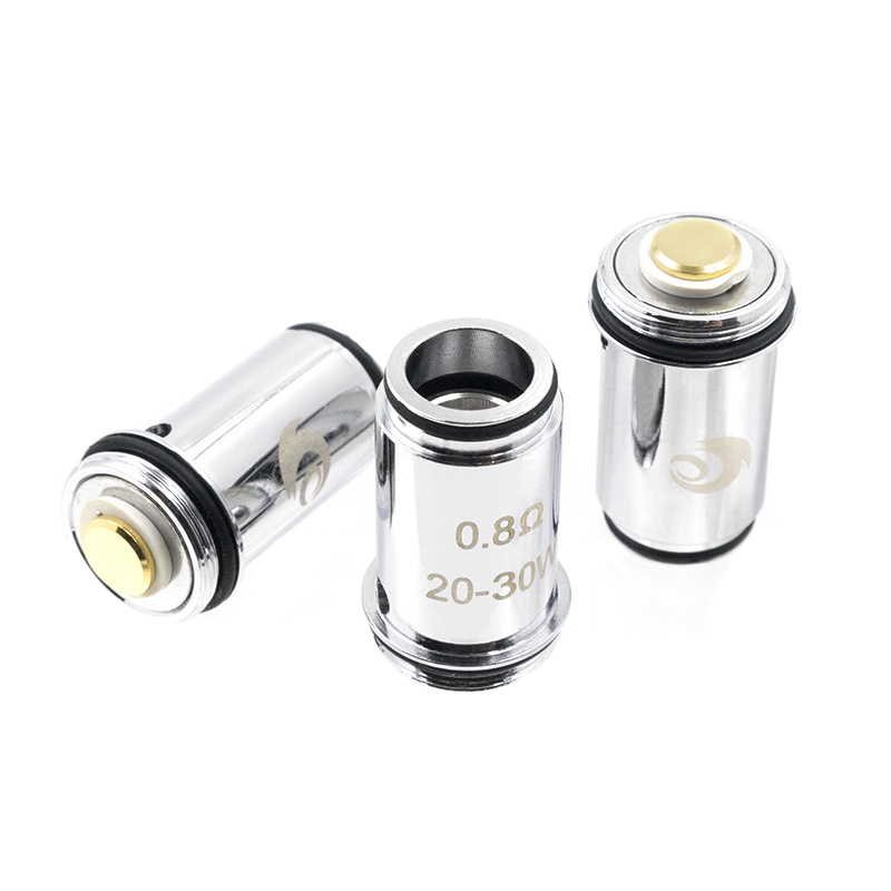 Ewinvape F30 Coils F30 epipe kit replacement evaporator 0.8ohm 1.0ohm vape core 30w e pipe kit 5pcs