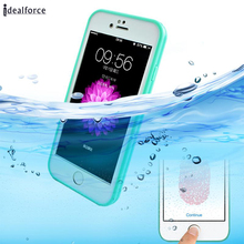 For 5 SE 6 7 8 Plus X Dustproof Waterproof Cases Cover Bag Shell Outdoor phone Case(China)