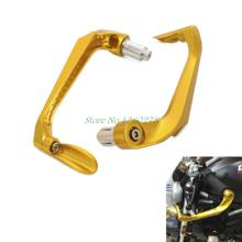"Universal CNC Brake Clutch Lever Protective Guards Bar Ends Motorcycles 7/8"" Handle"