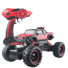 2.4HZ Large Four-Wheel Drive Off-Road Remote Control Car Rock Crawler Charging Drift Toy Car Model Toy Boy Drop Resistance Crash(China)