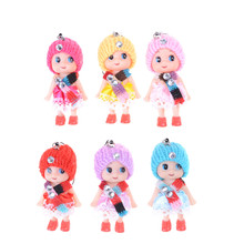 5pcs Kids Toys Soft Interactive Baby Dolls Toy Mini Doll For girls and boys Confused Doll Dolls & Stuffed Toys(China)