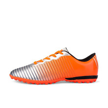 Children Youth Non-slip Men Women Nail Broken Child Outdoor Football Boots Soccer Cleats TF/FG Training Sports Sneakers Shoes(China)
