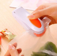 Easy Handy Heating Sealer Plastic Bag Mini Vacuum Packer Food Electric Sealing Machine Kitchen Accessories Households(China)