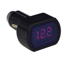 Portable Digital Monitor Car Volt Voltmeter Tester LCD Cigarette Lighter Voltage Panel Meter