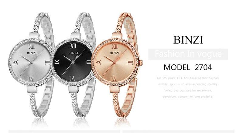 Fashion Women Watches Luxury Brand Watches ladies quartz watch Rose Gold WristWatch Fashion Bracelet Wristwatch Relogio Feminino