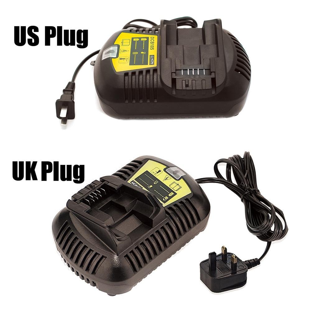 1 pc DCB105 DCB120 DCB203 DCB200 DCB201 DCB204 DCB180 DCB181 DCB182 Charger For DEWALT 12V-20V Voltage Li-ion Battery Charger T5<br>