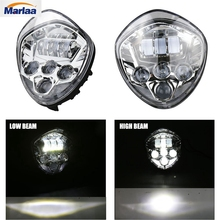Driving Light 1PCS LED Headlight Kit with high low beam for Victory Cross Country
