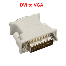 DVI 24+5 Male to HDMI Female Converter HDMI to ATI DVI aAdapter VGA Adapter Convertor for Monitors Projectors PC Laptop(China)