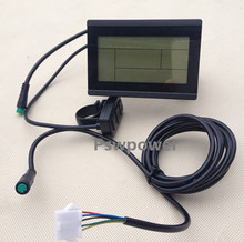 ebike 24V 36V 48V intelligent black KT- LCD3 ktlcd3 Control Panel LCD Display Electric Bicycle bike Parts for KT controller