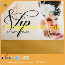 (500pcs/lot)Newest Colorful Screen Printing plastic Pvc Business Card,CR80 standard full color printing pvc card