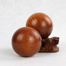 2pcs/lot Eco-Friendly wooden colour Soft wooden Water Pool Ocean Wave Ball Baby Funny Toys Stress gym Ball Outdoor Fun Sports(China)