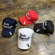 WOTUFLY 2018 New Golf Hat Cotton Caps Outdoor Sports Golf Hats Cap  Adjustable Size Pearly Gates For Man Lady 22e701e138ce