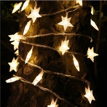 3M star String Fairy Lights Chain Christmas Party Garden Home Decor