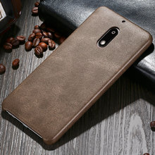 2016 X-Level PU leather For Phone Case Nokia 6,Back Cover For Nokia 6 case(China)