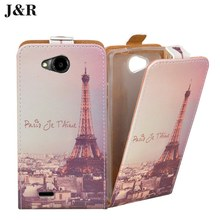 Brand J&R Flip Leather Case For ZTE Blade GF3/Q Pro Case For ZTE GF3 4.5'' Cover Luxury Mobile Phone Bag
