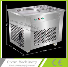 Hot selling fired ice cream machine with factory price