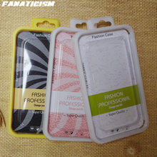 Universal Retail Packaging For iPhone 7 6s Plus Case Samsung S7 Cover TPU Silicone Case Package PVC Blister Box 200 pcs/lot
