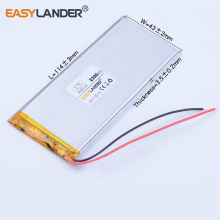 Buy 3543114 3.7V 2300mAh Rechargeable li-Polymer Li-ion Battery power bank PDA Tablet PCs Digital Products Goophone 5.5 3545114 for $9.99 in AliExpress store
