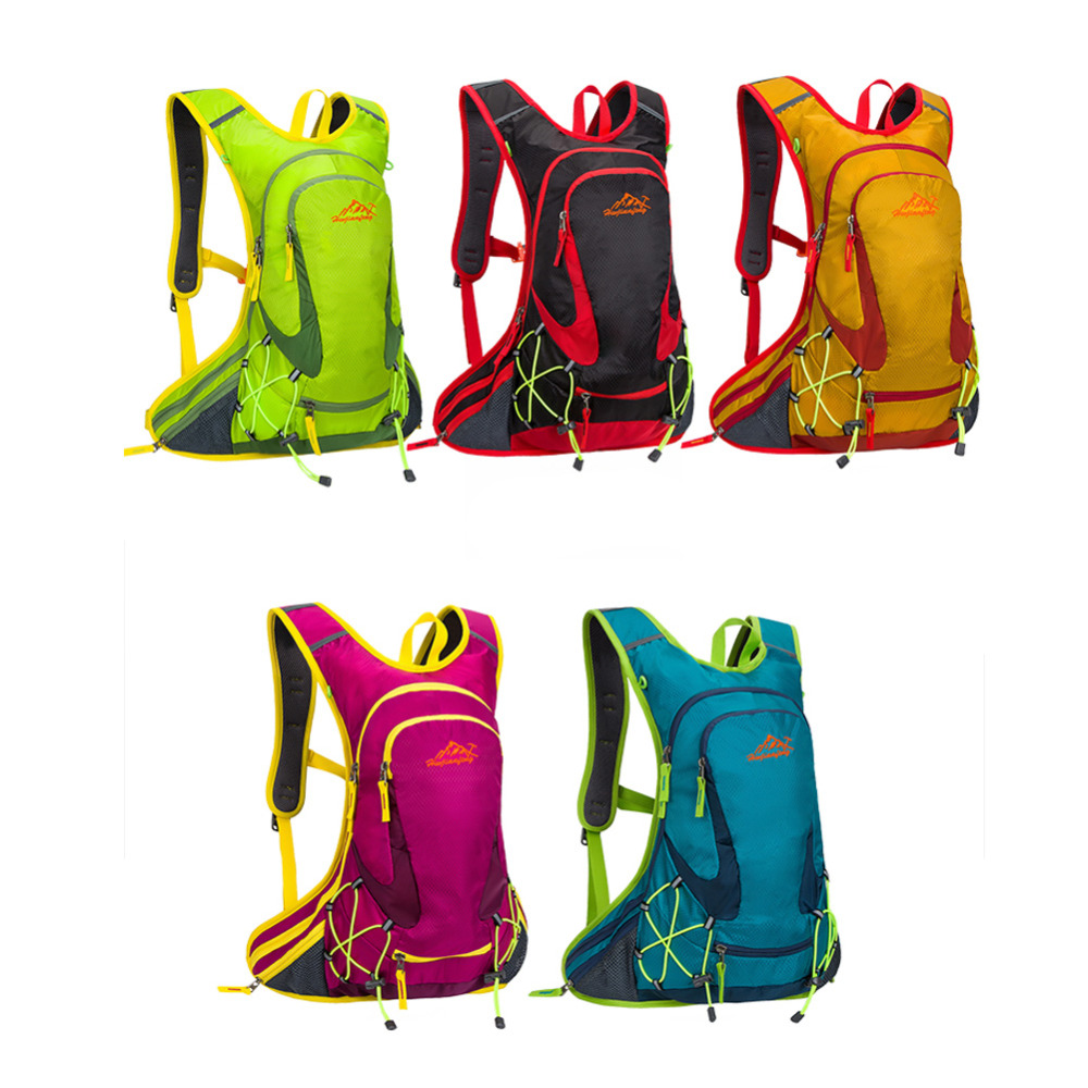 15L Sports Outdoor Moutain Bicycle Cycling Water Bags Camelback Ergonomics Hydration Backpack Climbing Camping Hiking Bike Bag<br><br>Aliexpress