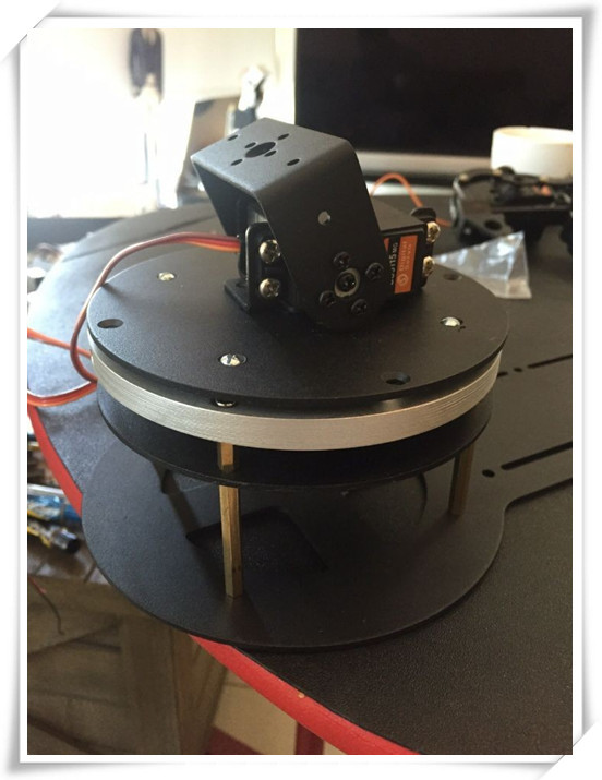 HOT sale The mechanical arm rotating head base robot arm base  free shiping<br>