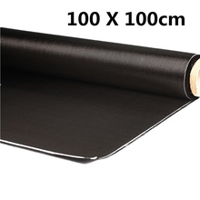 Hot Sale 3K 200gsm 100x100cm Durable High Strength Carbon Fiber Cloth For Various Models Car Parts Sport Equipments 40'' Width