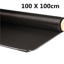 Hot Sale 3K 200gsm 100x100cm Durable High Strength Carbon Fiber Cloth For Various Models Car Parts Sport Equipments 40'' Width(China)