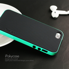 100% original ipaky brand top quality case For iphone 5s for iphone SE Classic Silicon Cover  all color in stock