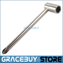 7mm Truss Rod Wrench Silver Metal Tool Adjustable For Jackson/ Ibanez PRS Electric Guitar New