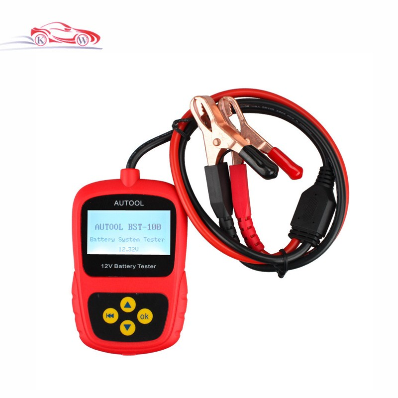 2016 Hot Sale 100% High Quality BST100 Auto Battery System Tester Cheap car Battery tester bst-100<br><br>Aliexpress