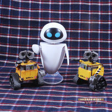 Wall-E Robot Wall E EVE PVC Action Figure Collection Model Toys Dolls 6cm 3 Types(China)