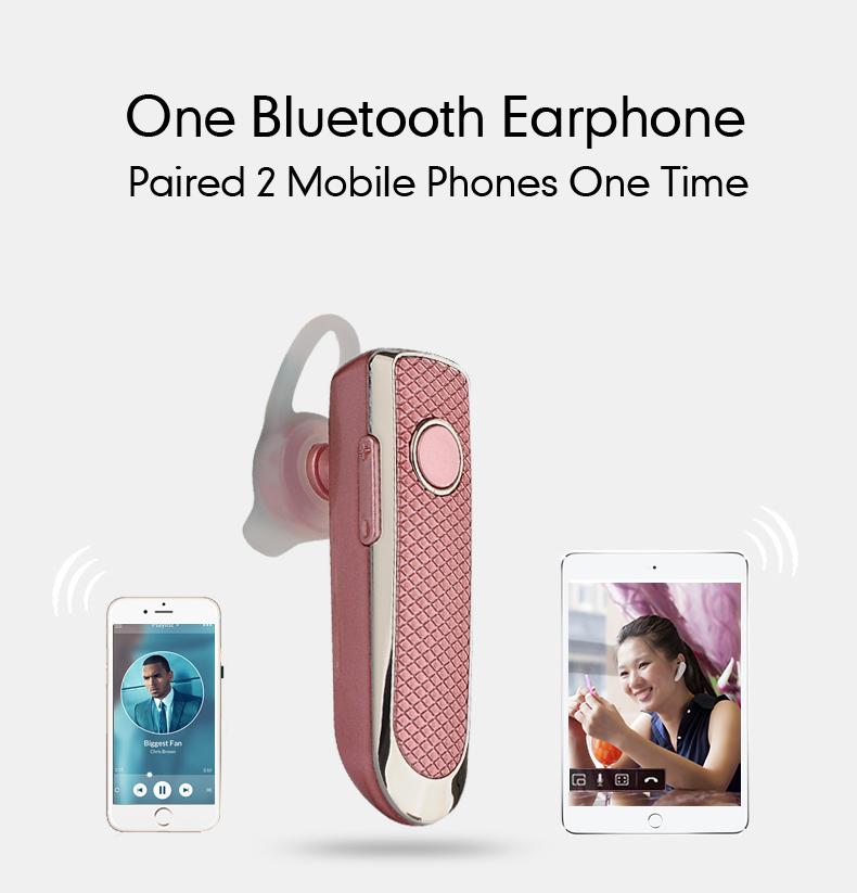 6 pink headphones