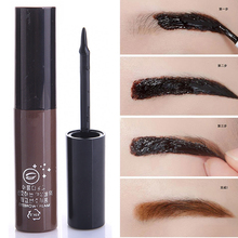 New Cheap Makeup Coffee Brown Waterproof Peel Off Eyebrow Gel Long Lasting Henna Eyebrow Enhancer Make Up Eye Brow Gel Cosmetics