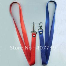 10mm width one pothook  lanyard-strap, polyester string-customized ID badge holder/cardholder lanyard free shipping