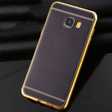 Fashion Cheap 360 Degree Protection Cell Phone Cases For Samsung Galaxy C5 C7 Cover Luxury Soft Silicone For Galaxy C9 Pro Coque