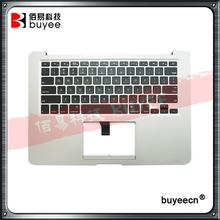 Original Used A1369 Topcase For Macbook Air A1369 Palm Rest Palmrest Top Case With US Keyboard Late 2010 Year 661-5735 Tested