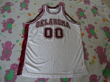 Vintage 90's Oklahoma Sooners Evans Converse Basketball Jersey Stitched Custom any Number and name Jerseys