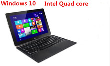 10inch touch screen Windows 10 quad core 4 threads netbook laptop PC  Z8300d 2GB 64GB EMMC dual cameras WIFI  mini notebook