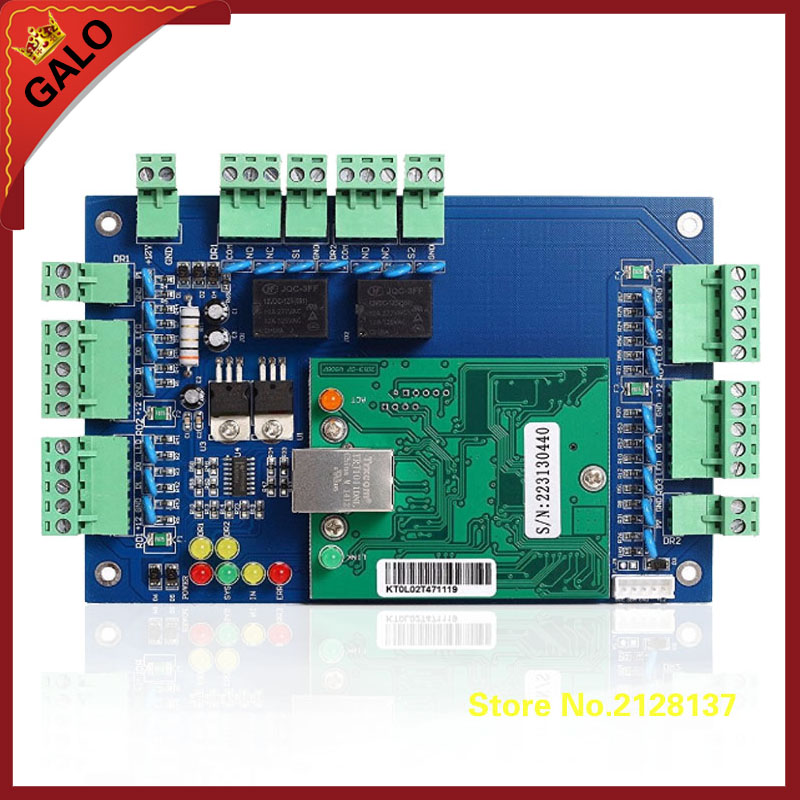 galo TCP/IP Network Access Control Board Controller for Door and RFID Reader<br>