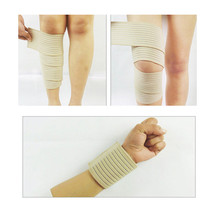 1Piece Sport Safety Tape 70CM Length Adjustable Wristbands Elbow/Knee Wraps Black/White Brace Wrist Support Bandage Guard P15