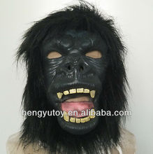 Hot-selling Novelty Animal Costumes for Adults Party Mask Latex Gorilla Mask