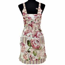 New Qualified Women Lady Restaurant Home Kitchen For Pocket Cooking Cotton Apron Bib Levert Dropship dig6311(China)