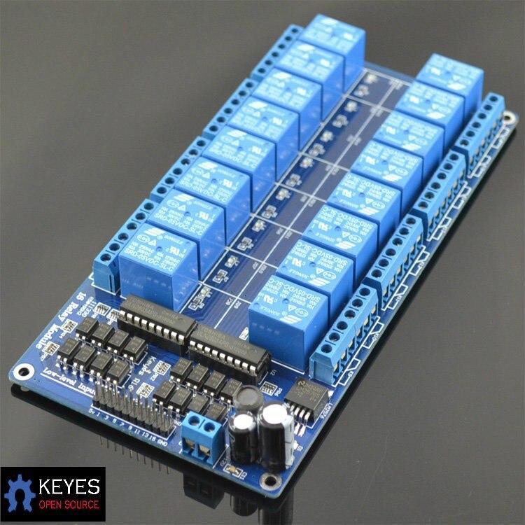 16 relay module relay plate belt optocoupler belt lm2576 power supply r<br><br>Aliexpress
