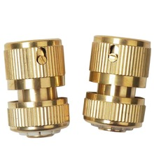 Buy 2PCS Brass Car Wash Water Gun Sprayer Faucet Tap Connector Water Pipe Hose Quick Connector Garden Tube Snap Adaptor Joint Tools for $4.65 in AliExpress store
