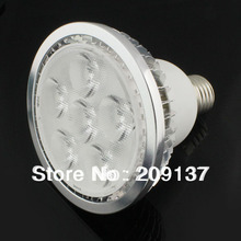 DHL Free Shiping Par30 12W 6*2W led bulb led lighting led par30 Dimmable led spot light E27 LED light 30pcs/lot(China)