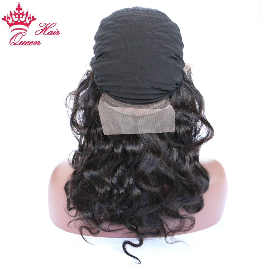 Queen Hair Lace Front Wigs Body Wave Pre-plucked with Slight Bleached Knots 100% Human Remy Hair Wigs 16 to 20 For Black Women