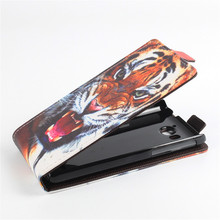 For HUAWEI U8950 G600 Leather Case Butterfly Tiger Flip Cover For U 8950 G 600 Case Phone Cover with Card Holder Free shipping